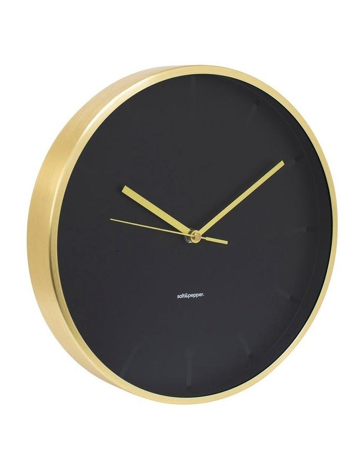 Annex Clock - 31.5cm - Gold image 2