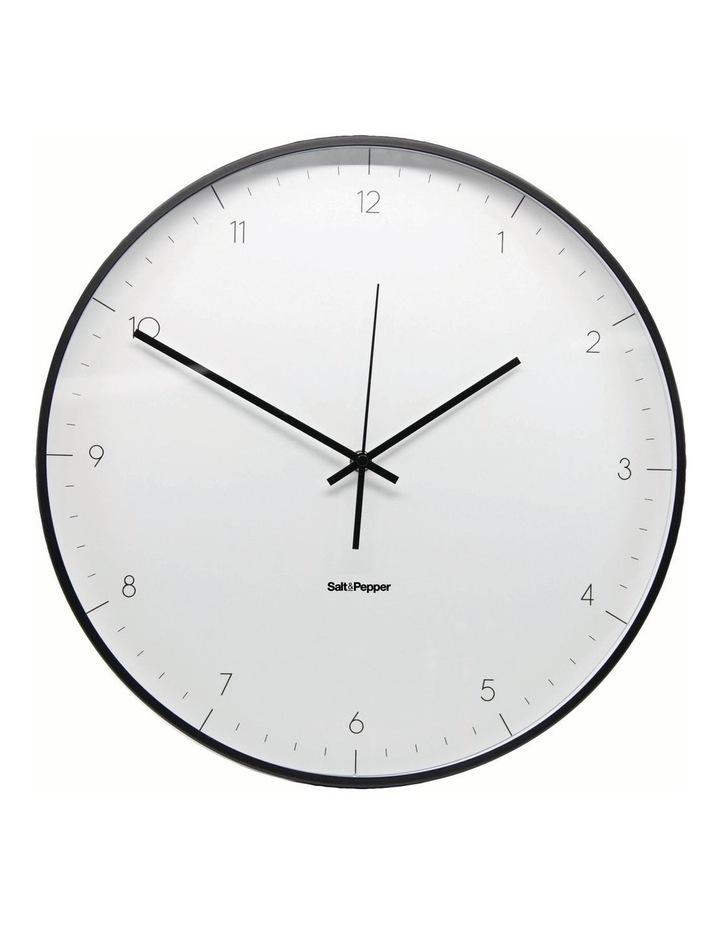 Elio Clock - 40.5cm - White image 1