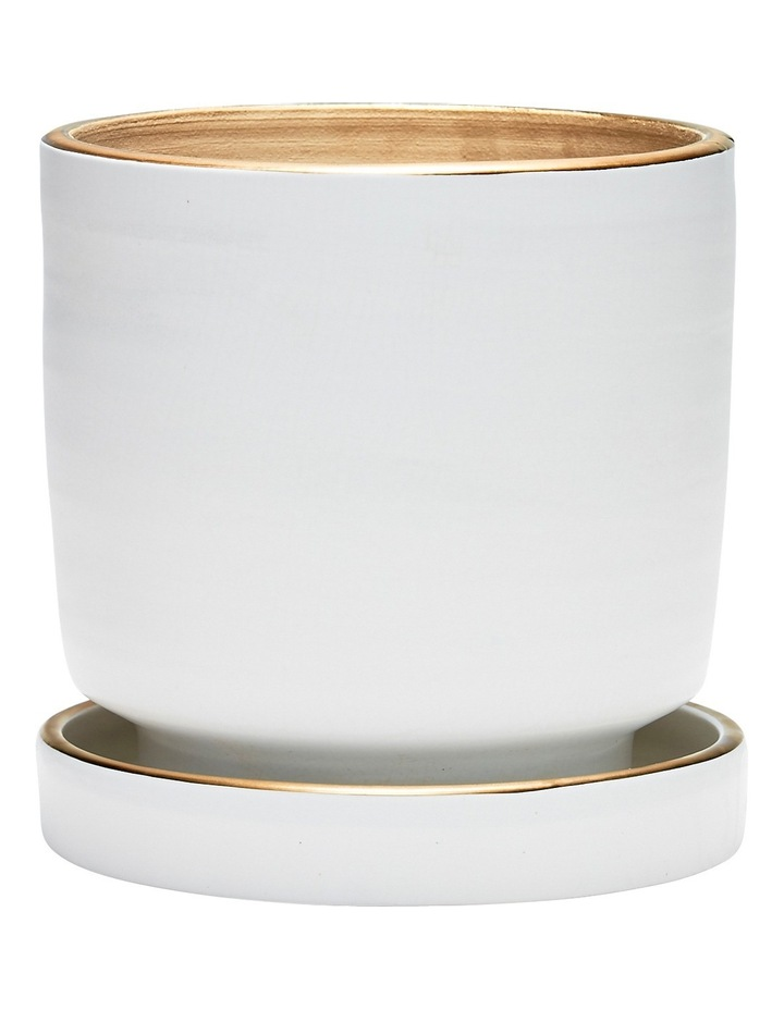 Element Planter White 22x23cm image 1