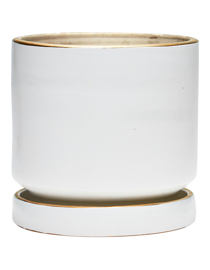 Element Planter White 28x29cm image 1