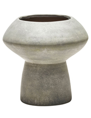 Salt&Pepper - Accession Iron Finish Vase Ore 22.5x22.5cm