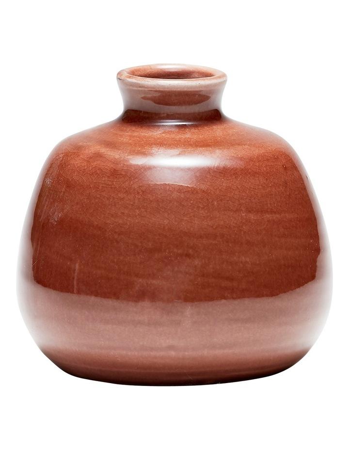 Vestige Vase Red Earth 11x16.5cm image 1