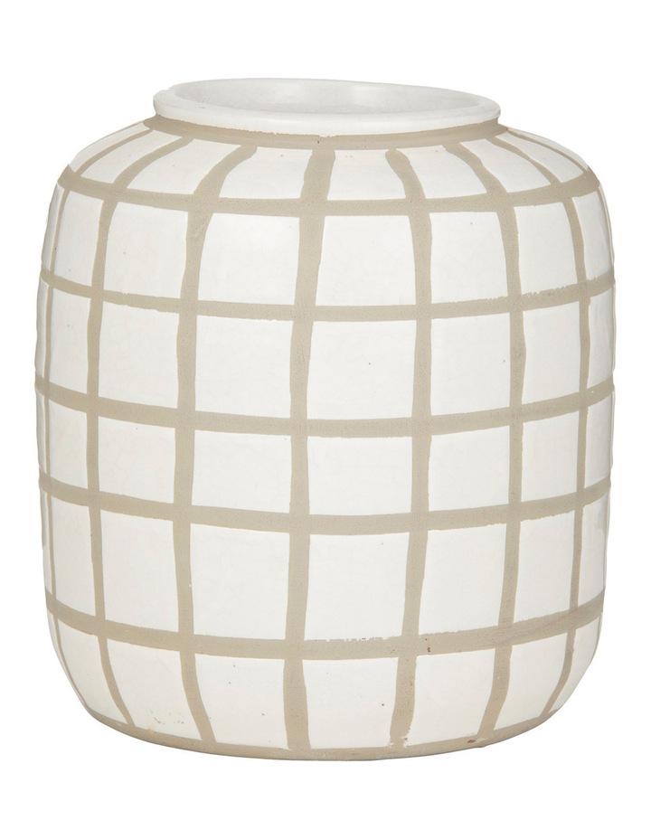Amalfi Cedar Vase 23cm image 1