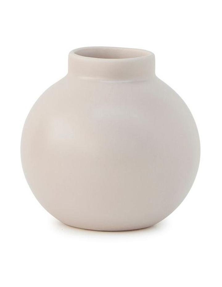 Suffolk 13.5cm Stoneware Vase in Nude image 1