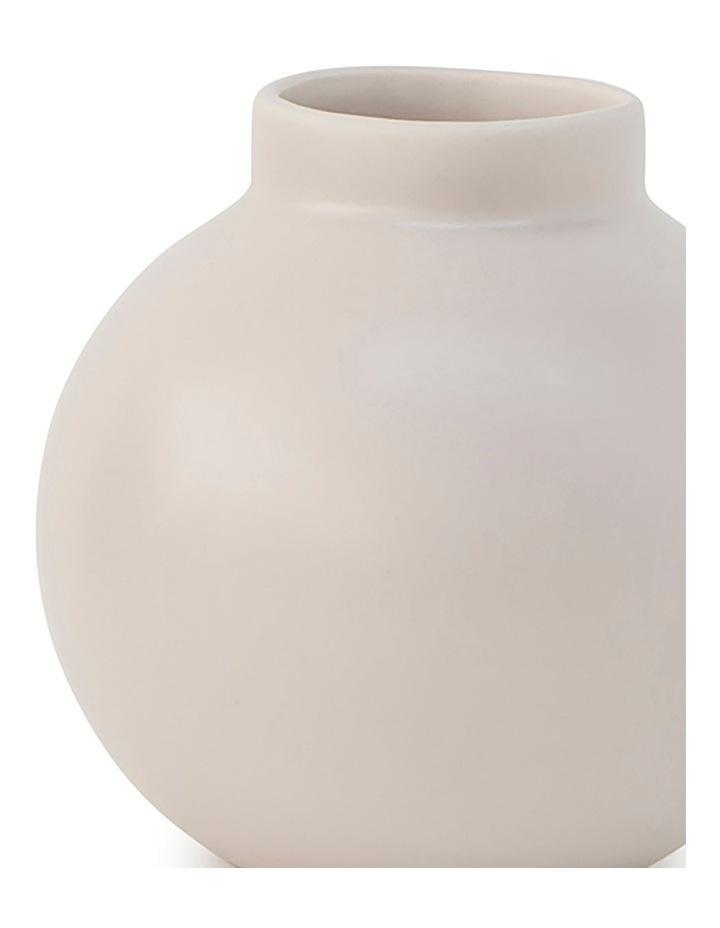 Suffolk 13.5cm Stoneware Vase in Nude image 2