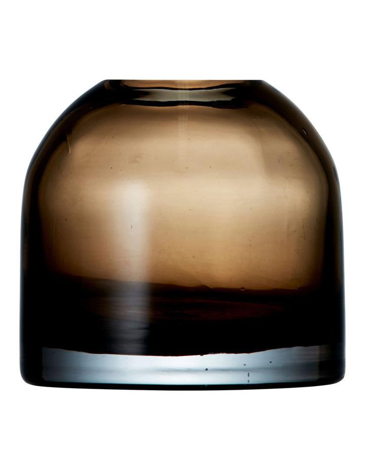 Pod Vase Amber 10x10cm image 1