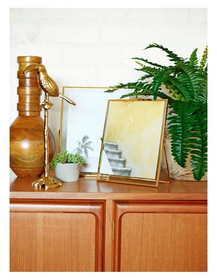 INDRIYA Vase 38cm - Mango Wood image 2
