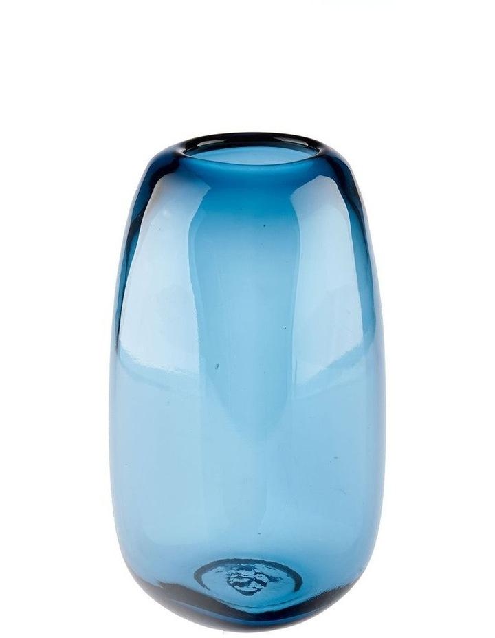 Indiana Vase 22cm Blue image 1