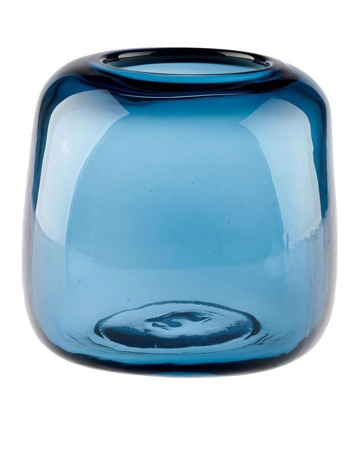 Indiana Vase 15cm Blue image 1