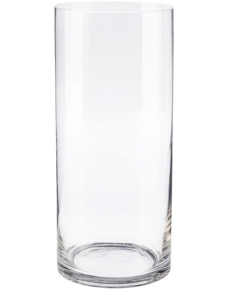 Solaire Vase 28cm Clear image 1