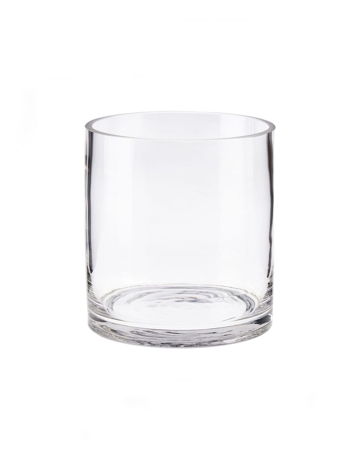 Solaire Vase 13cm Clear image 1