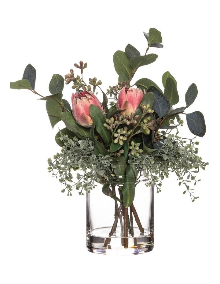 Mini Protea Mix in Pail Vase 32cm image 1