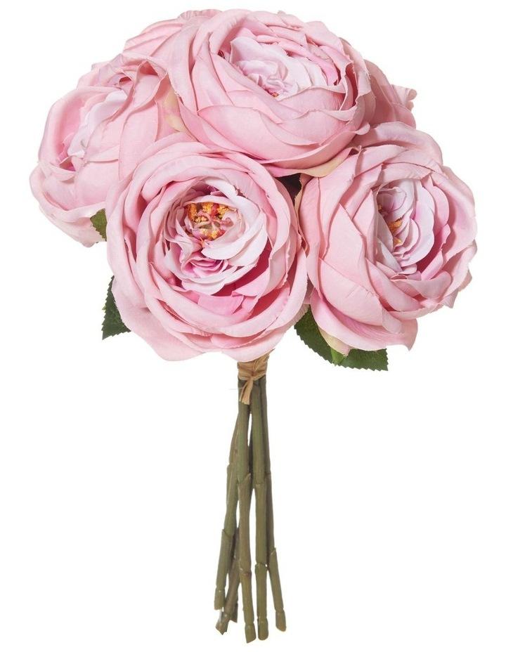 Rogue Columbian Rose Bouquet 37cm Pink image 1