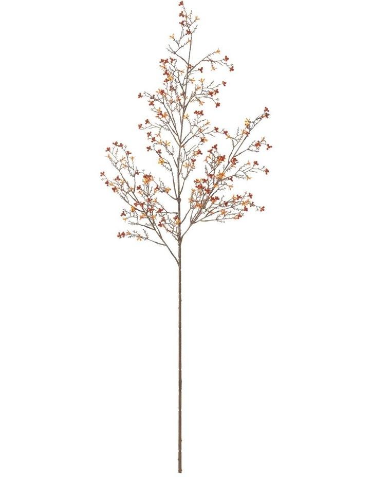 Flowering Bud Spray Burnt Orange 102cm image 1