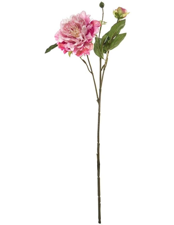 Peony Spray Large Pink 56cm image 1