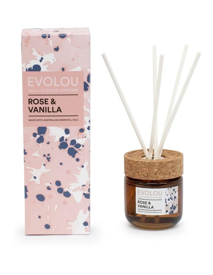 Evolou Diffuser - 150ml - Rose & Vanilla image 2