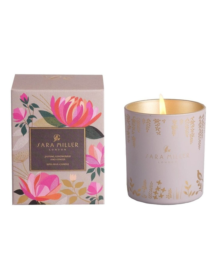Jasmine, Lemongrass & Ginger Candle 240g image 1