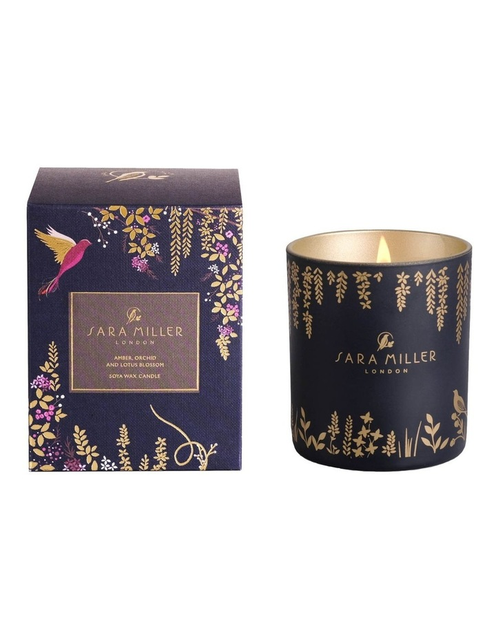 Amber, Orchid & Lotus Candle 240g image 1