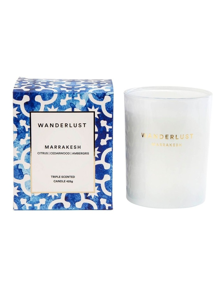 Wanderlust Marrakesh Candle - 425g image 1