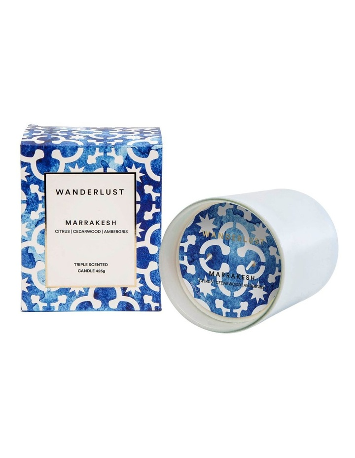 Wanderlust Marrakesh Candle - 425g image 2