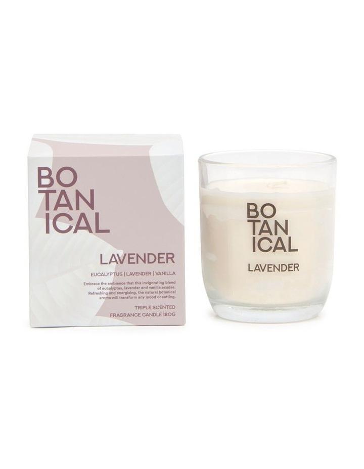 BOTANICAL Candle - Lavender - 180g image 1