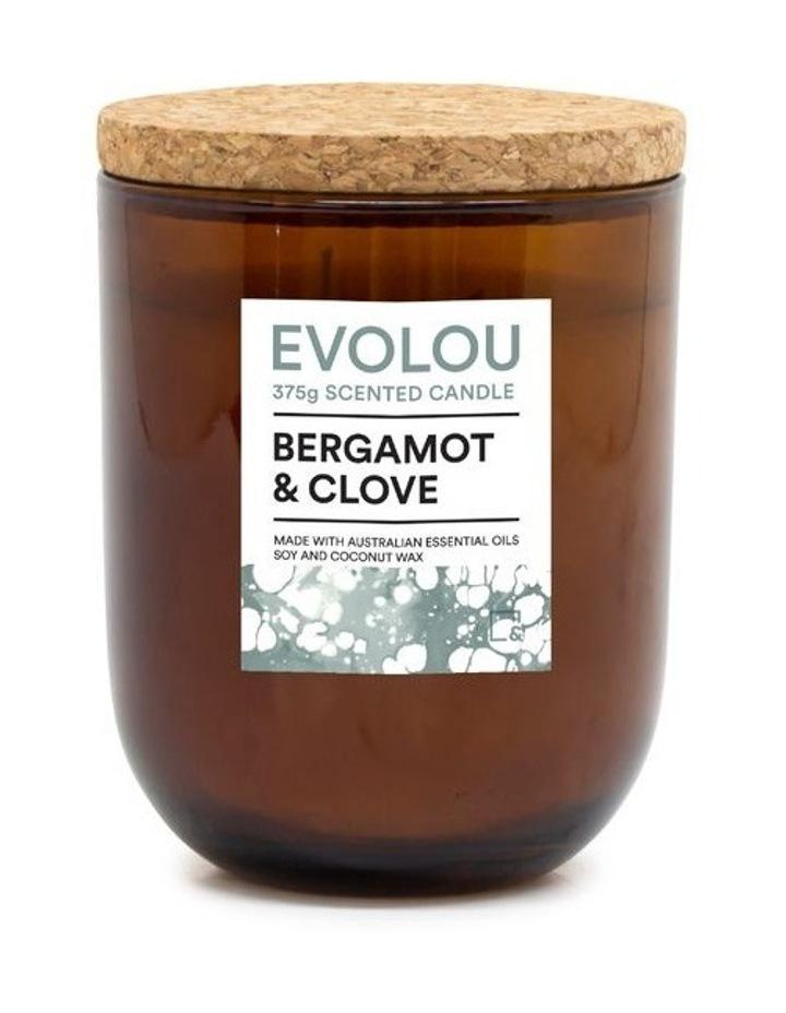Evolou Candle Bergamot & Clove 375g image 1