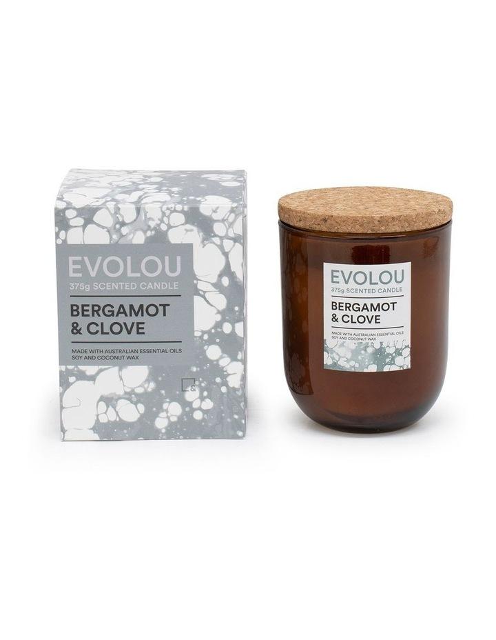 Evolou Candle Bergamot & Clove 375g image 2