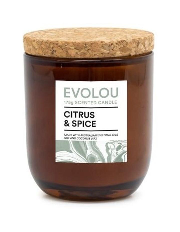 Evolou Candle Citrus & Spice 175g image 1