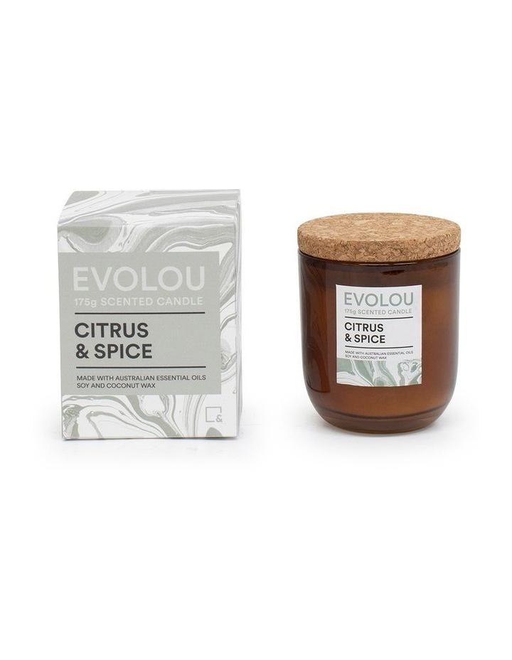 Evolou Candle Citrus & Spice 175g image 2
