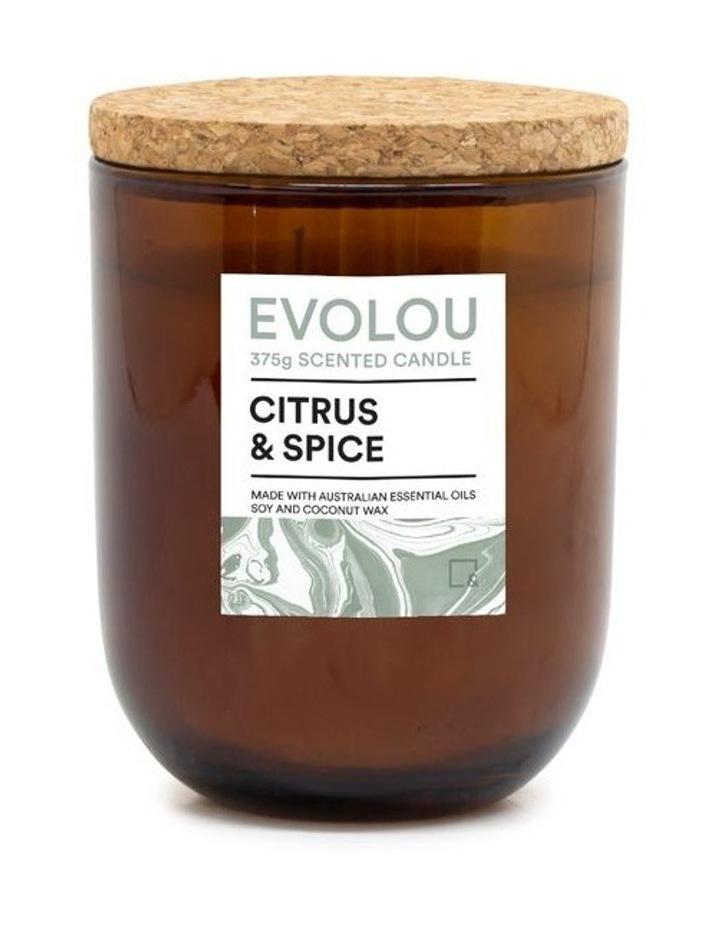 Evolou Candle Citrus & Spice 375g image 1