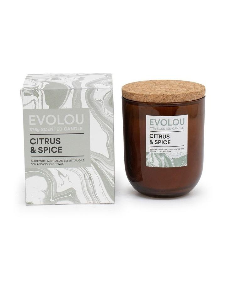 Evolou Candle Citrus & Spice 375g image 2