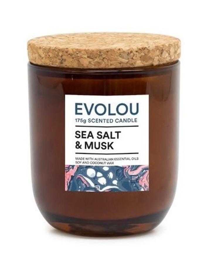 Evolou Candle Sea Salt & Musk 175g image 1