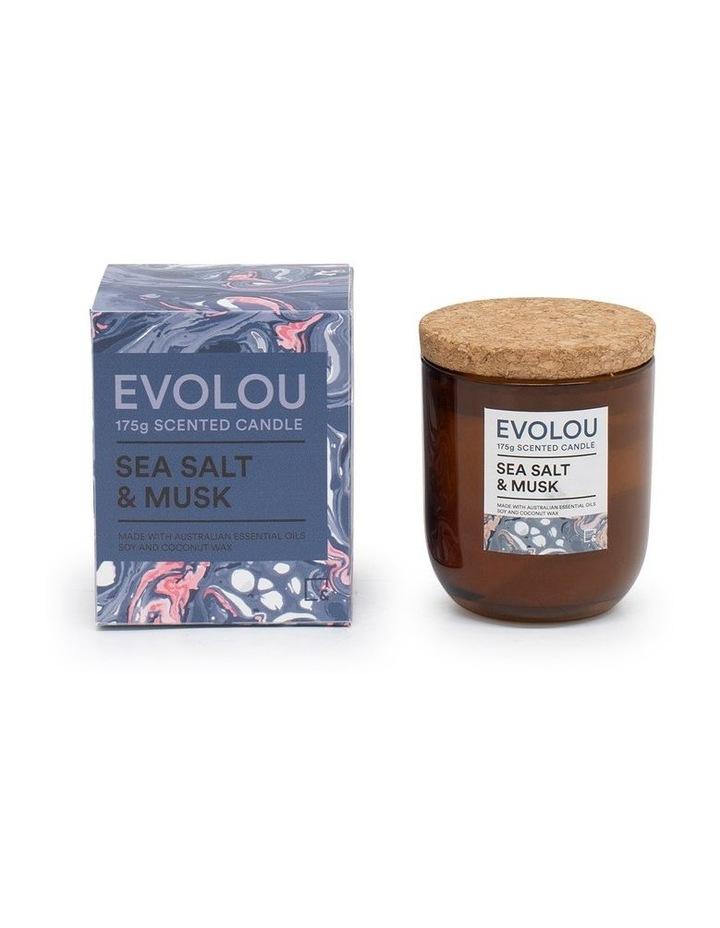 Evolou Candle Sea Salt & Musk 175g image 2