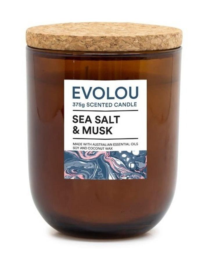 Evolou Candle Sea Salt & Musk 375g image 1