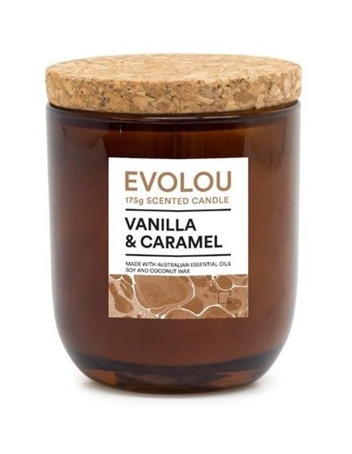 Evolou Candle Vanilla & Caramel 175g image 1