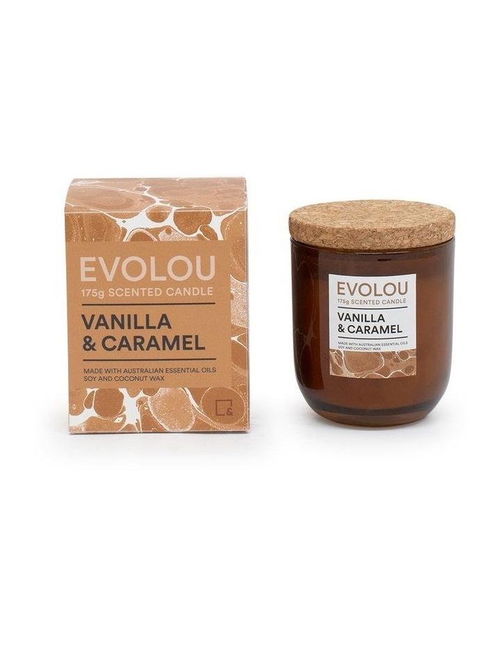 Evolou Candle Vanilla & Caramel 175g image 2