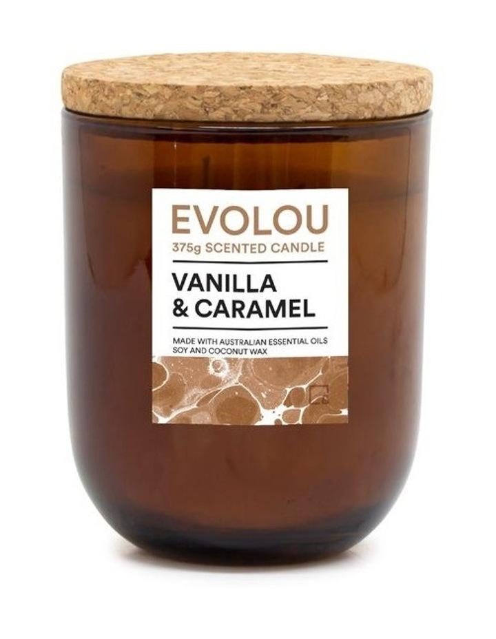 Evolou Candle Vanilla & Caramel 375g image 1