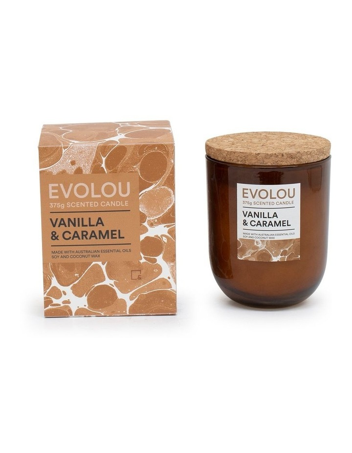 Evolou Candle Vanilla & Caramel 375g image 2
