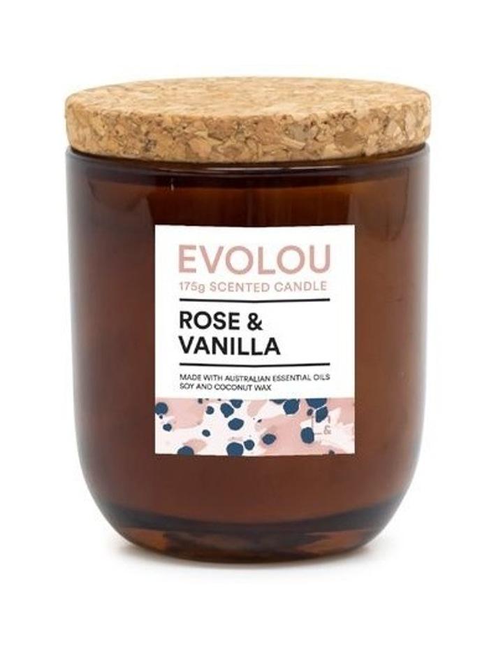 Evolou Candle Rose & Vanilla 175g image 1