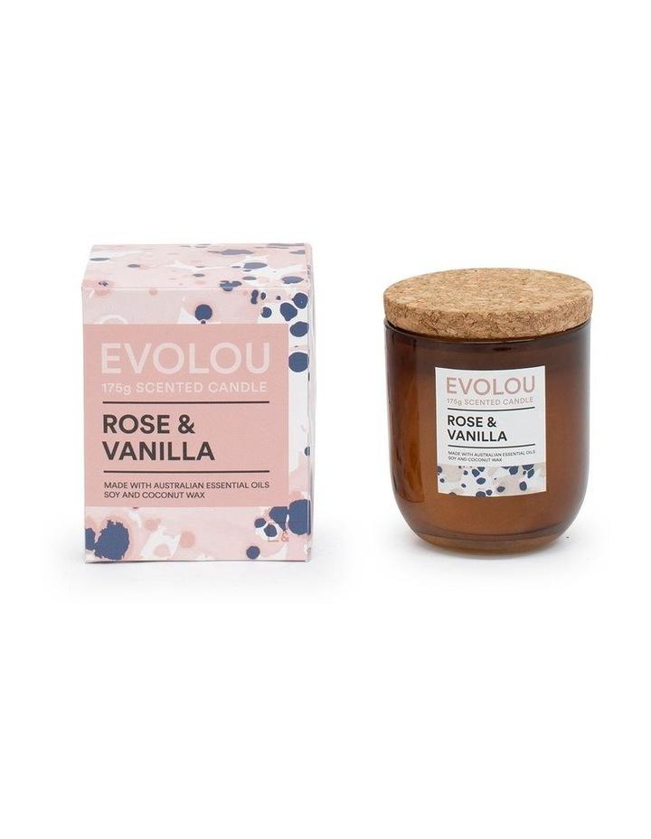 Evolou Candle Rose & Vanilla 175g image 2