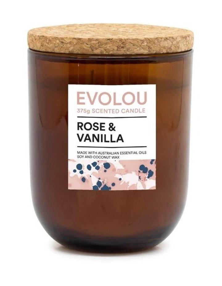 Evolou Candle Rose & Vanilla 375g image 1