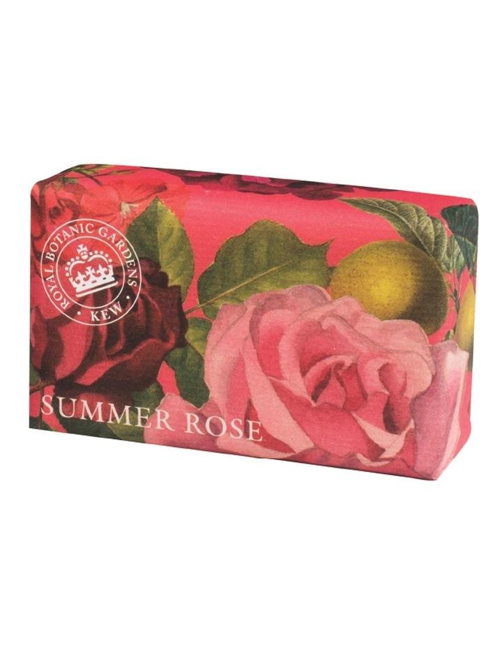 Kew Gardens 240g Soap Summer Rose image 1