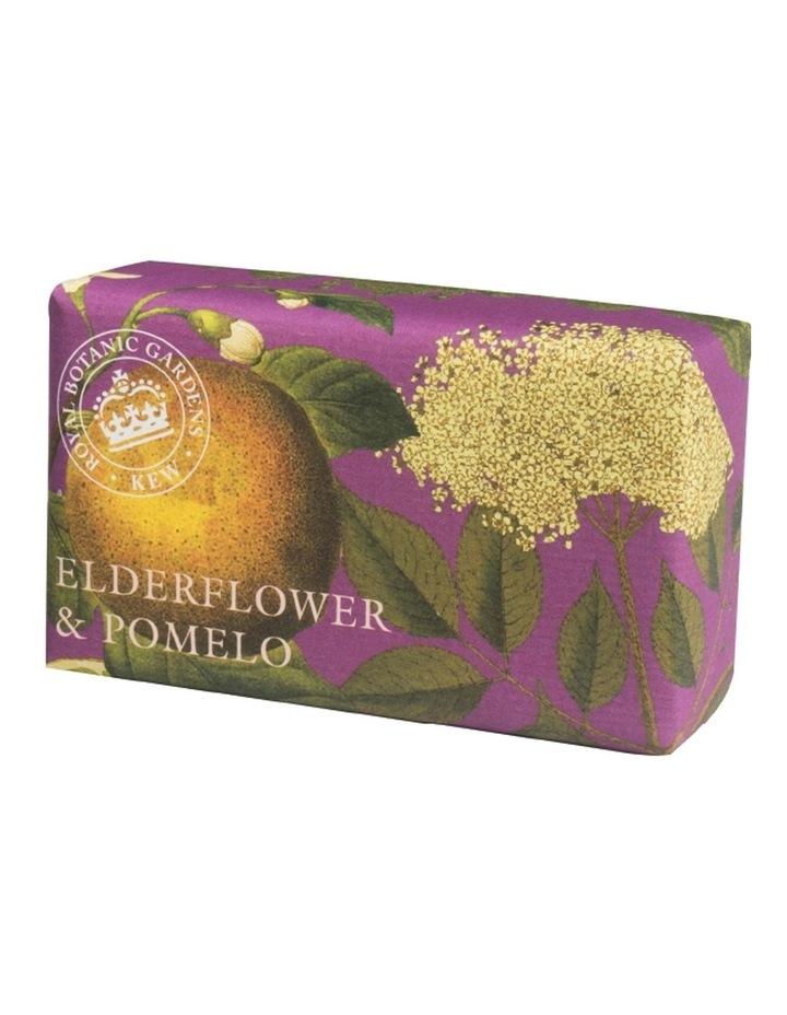 Kew Gardens 240g Soap Elderflower & Pomelo image 1