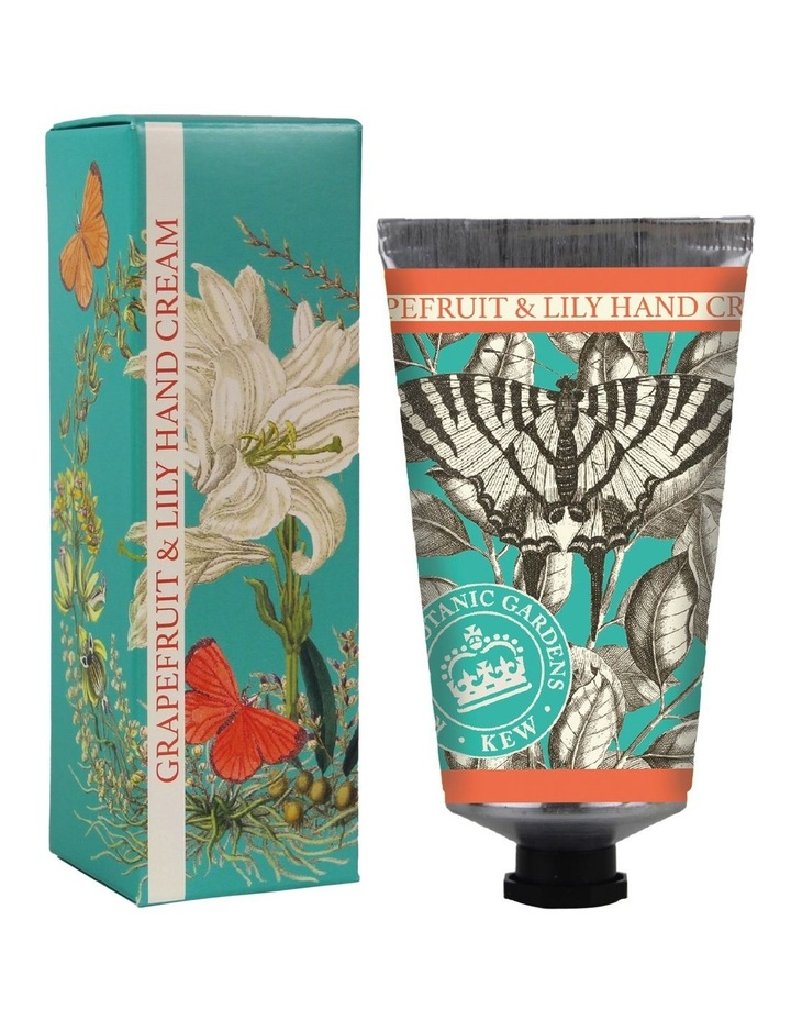 Kew Gardens Hand Cream 75ml Grapefruit & Lily image 1