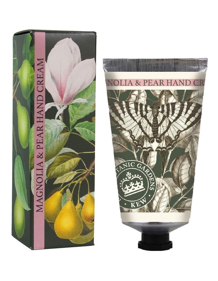 Kew Gardens Hand Cream 75ml Magnolia & Pear image 1