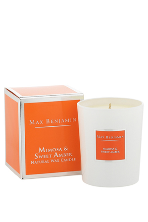 Max Benjamin - Classic Collection Candles 190g Mimosa & Sweet Amber