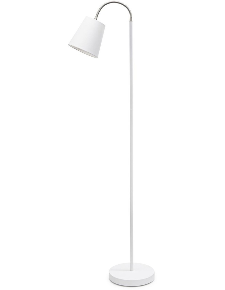 Court Floor Lamp - 165cm - White image 1