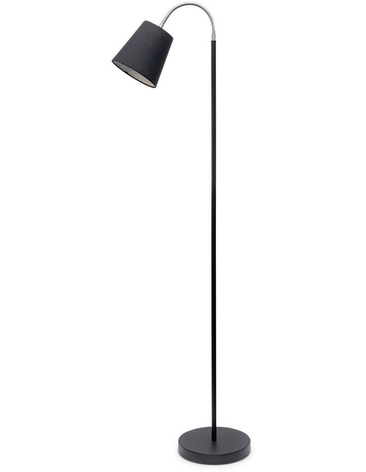 Court Floor Lamp - 165cm - Black image 1