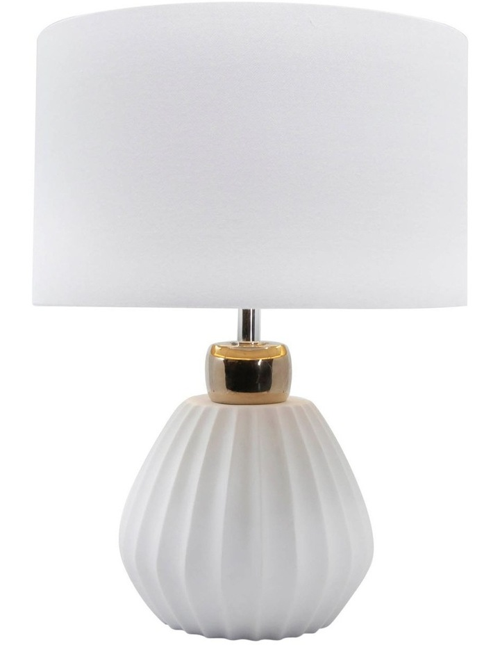 Lilou Table Lamp 43.5cm - White/Gold image 1