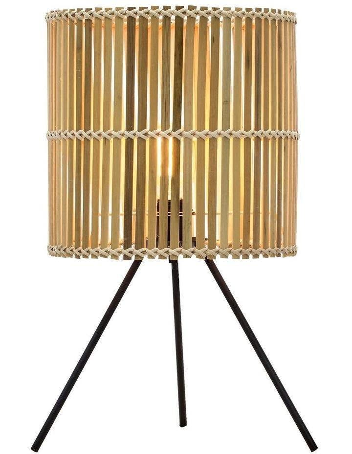 Bermuda Table Lamp Natural Black 36x60cm image 1